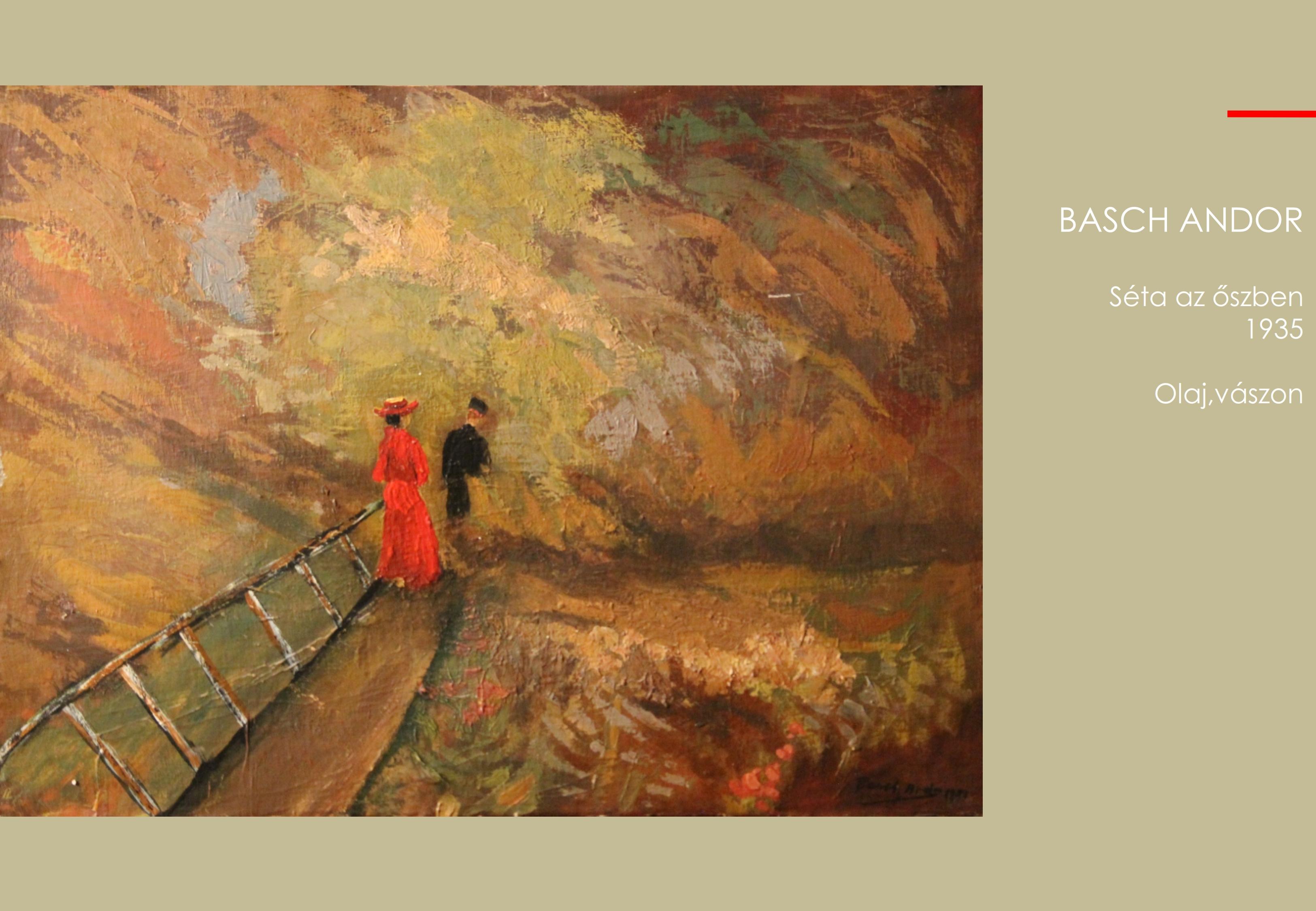 Basch Andor – Séta az őszben