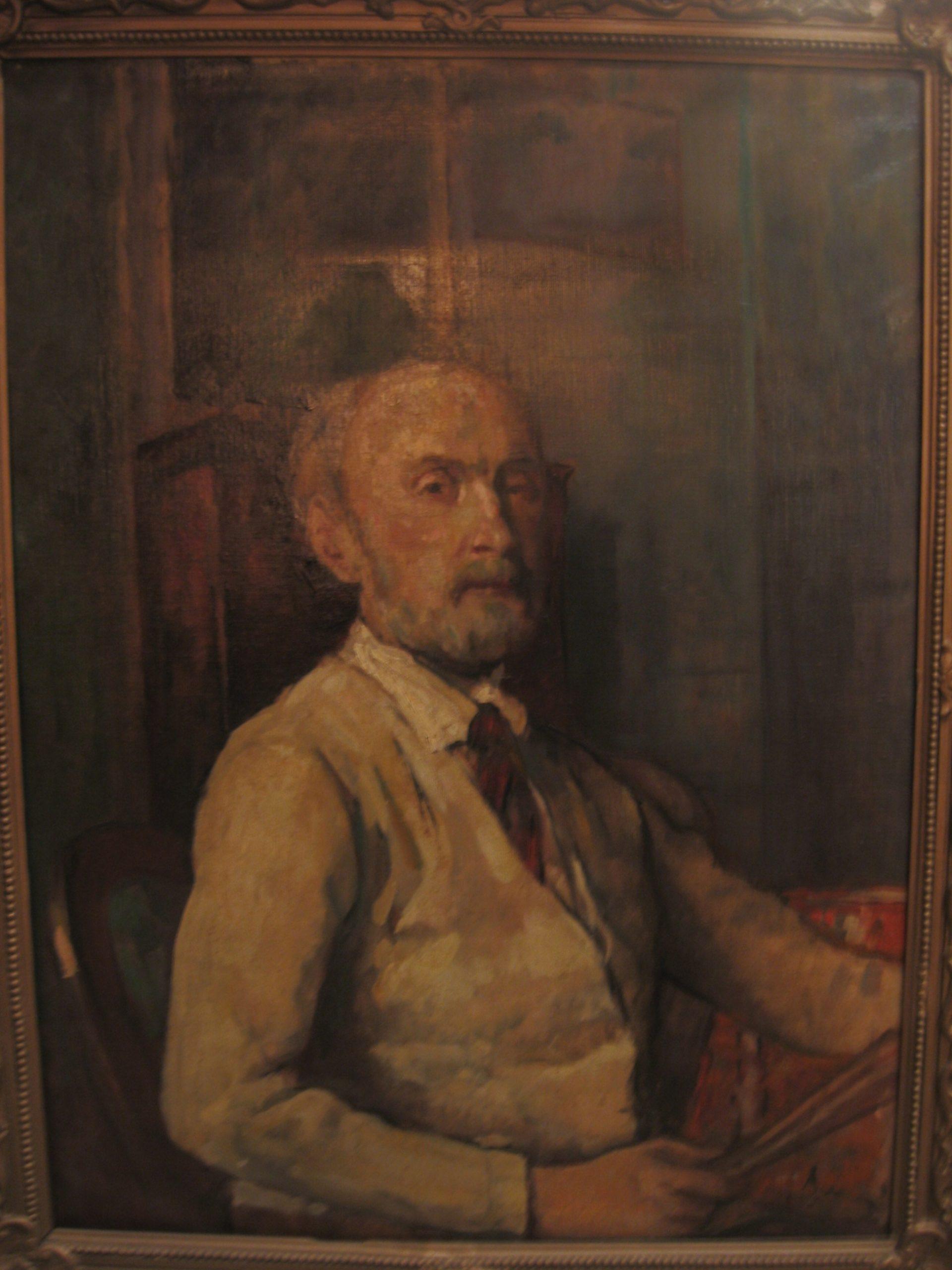 Belányi-Viktor-1877-1955-Önarckép_olaj-vászon_350000